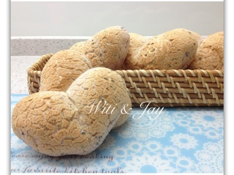 [Witi✿Kitchen]紫薯心型韓國麵包