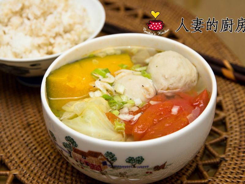 人妻的廚房-春日蔬食湯