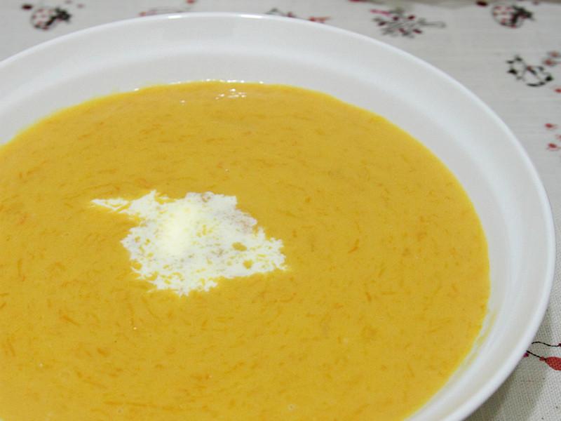 西式濃湯輕鬆上菜 - 南瓜濃湯