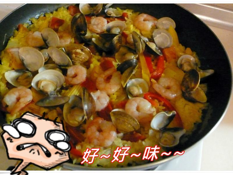道地口味超EASY西班牙海鮮飯 (2人份)