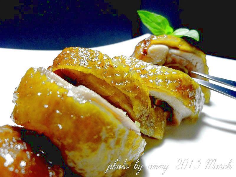 叉燒雞肉卷