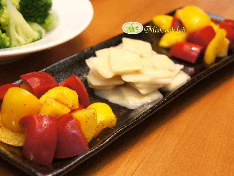 味噌蘿蔔泡菜+甘梅甜椒