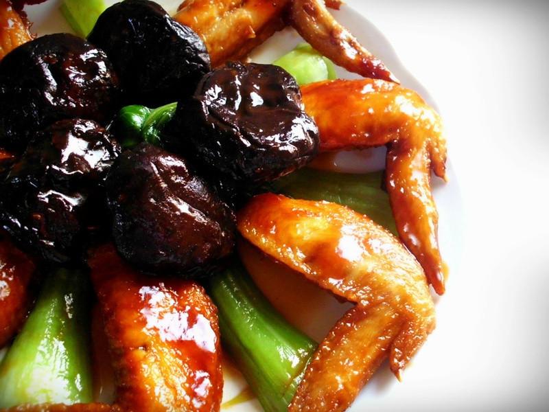 紅燒冬菇翅