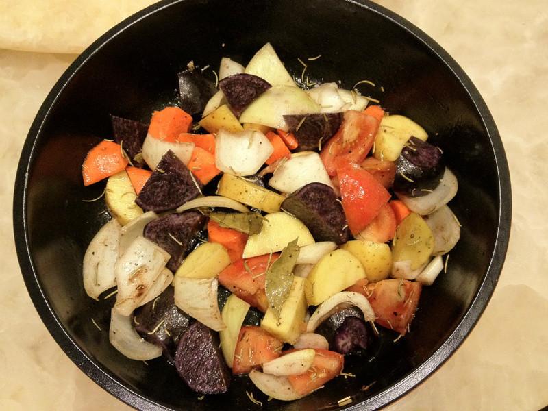 [woman家]-繽紛烤蔬菜秀