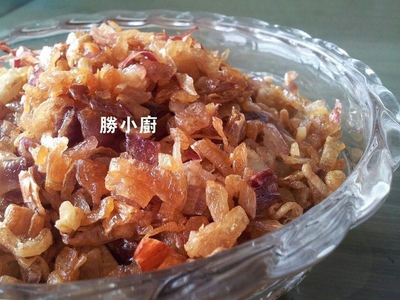 油蔥酥&滷大白菜