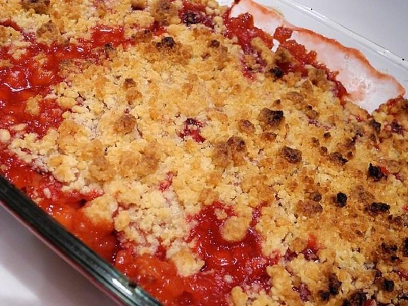 Strawberry Crumble-全家一起來做甜點