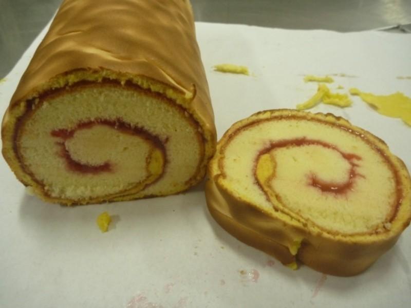 虎皮蛋糕捲