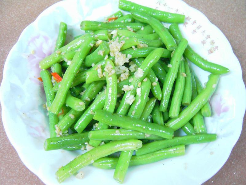 蒜末四季豆(敏豆)