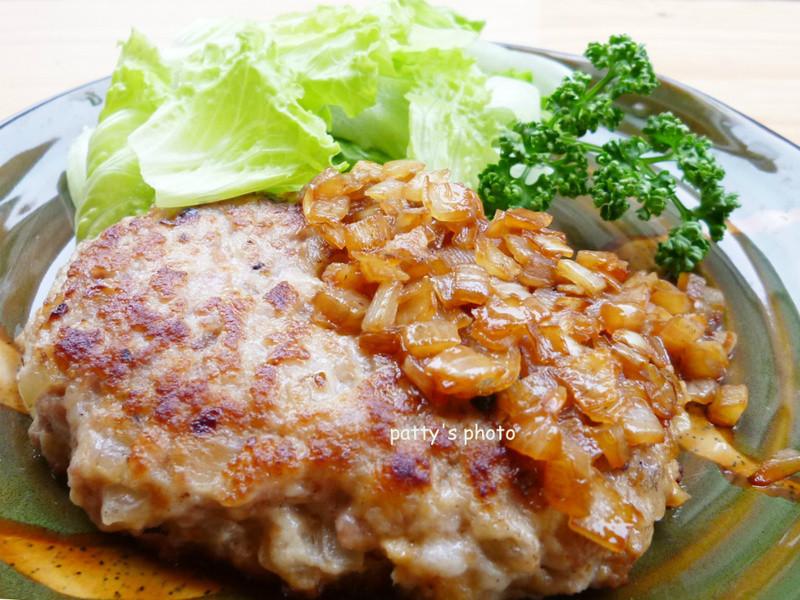 <龜甲萬樂享醍醐味>日式漢堡排
