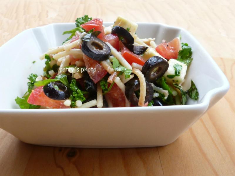 【city'super 漫走地中海】橄欖義麵沙拉