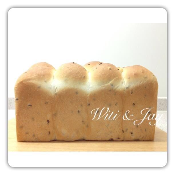 [Witi✿Kitchen](麵包機-吐司)亞麻仁籽吐司
