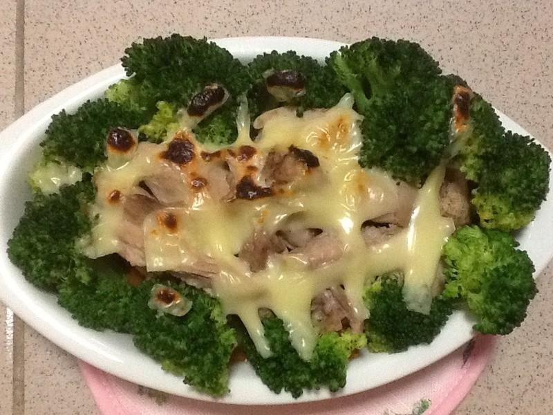超簡單焗烤之南瓜雞肉花椰菜
