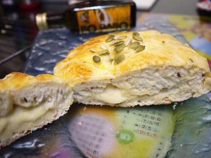 【得意的一天橄欖油】乳酪麵包