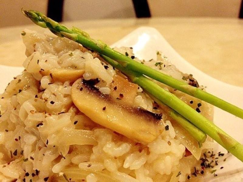[woman家]-奶油蘑菇燉飯