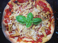 [aerial's house] 蘑菇瑪格麗特pizza