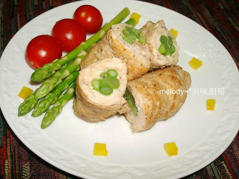 香煎鮮蔬豚肉捲