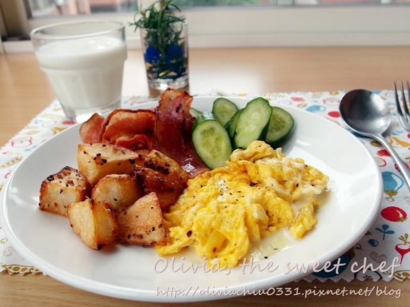 Olivia♥經典西式早餐