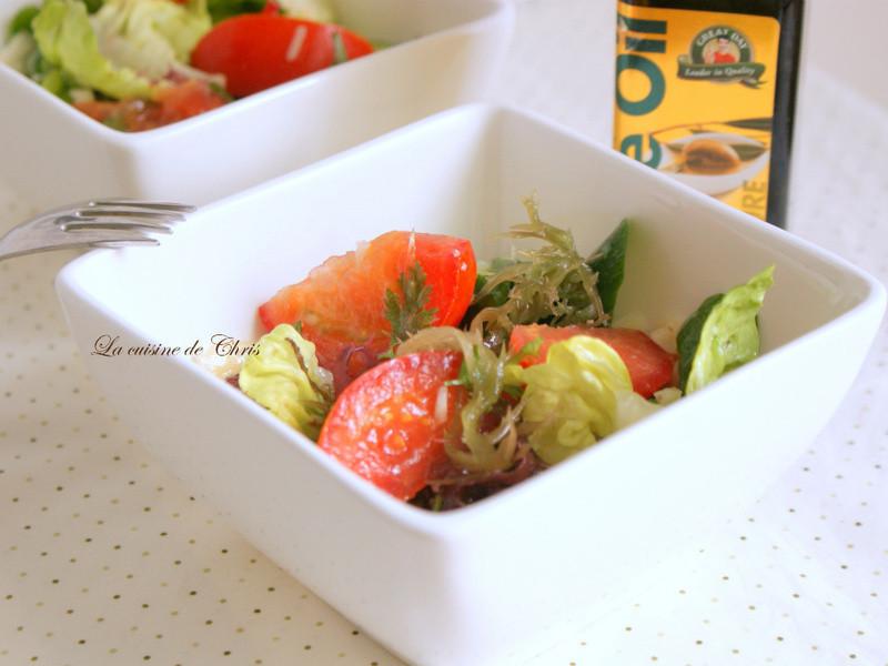 [得意的一天橄欖油] 簡易油醋沙拉