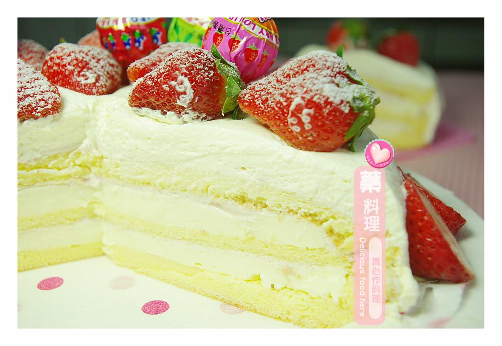 香濃草莓奶凍蛋糕