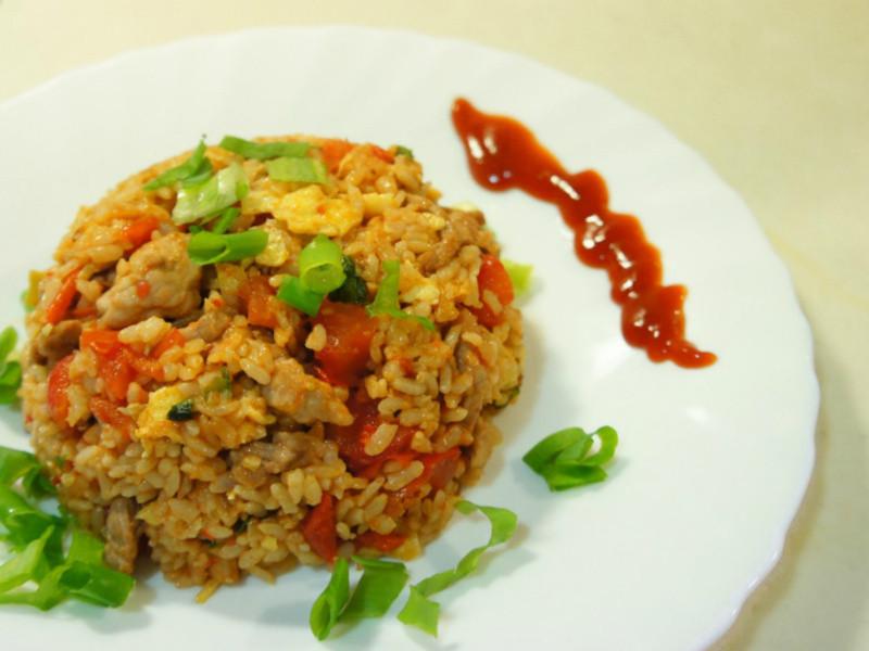 『老丹』番茄肉絲蛋炒飯