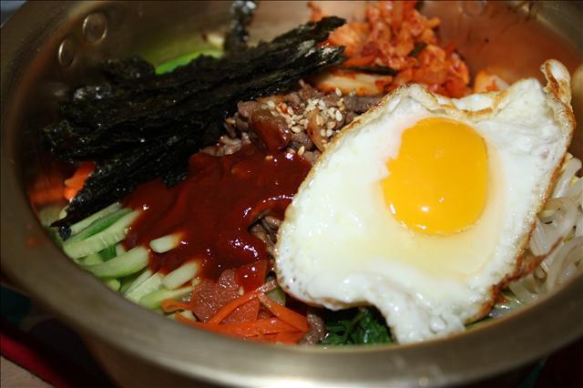 [韓食] 美味營養滿分在家也可以做的 비빔밥(韓式拌飯)