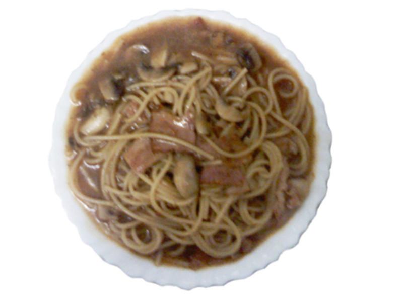 義大利麵(蘑菇醬)