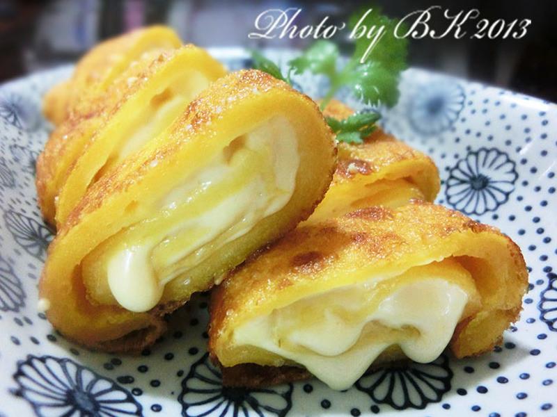 【得意的一天橄欖油】南瓜起司捲餅(7份)