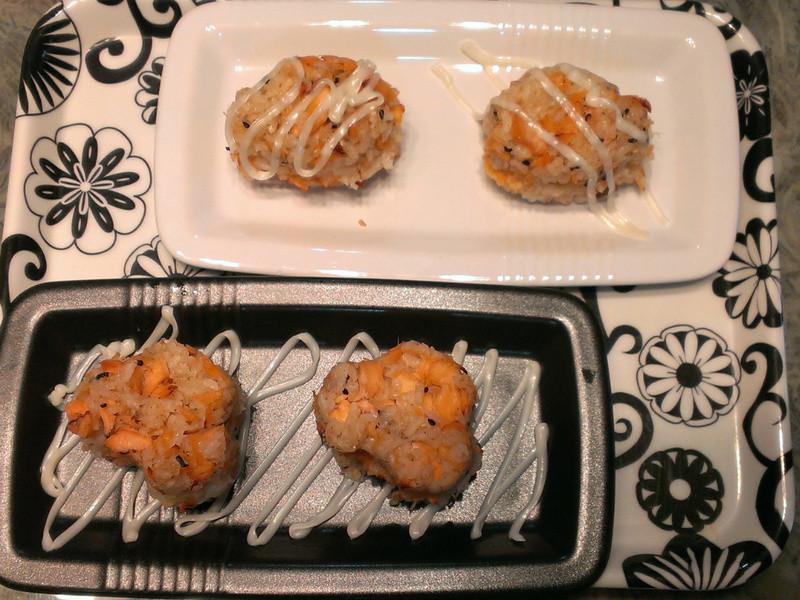 品靚上菜-氣炸鮭魚飯團