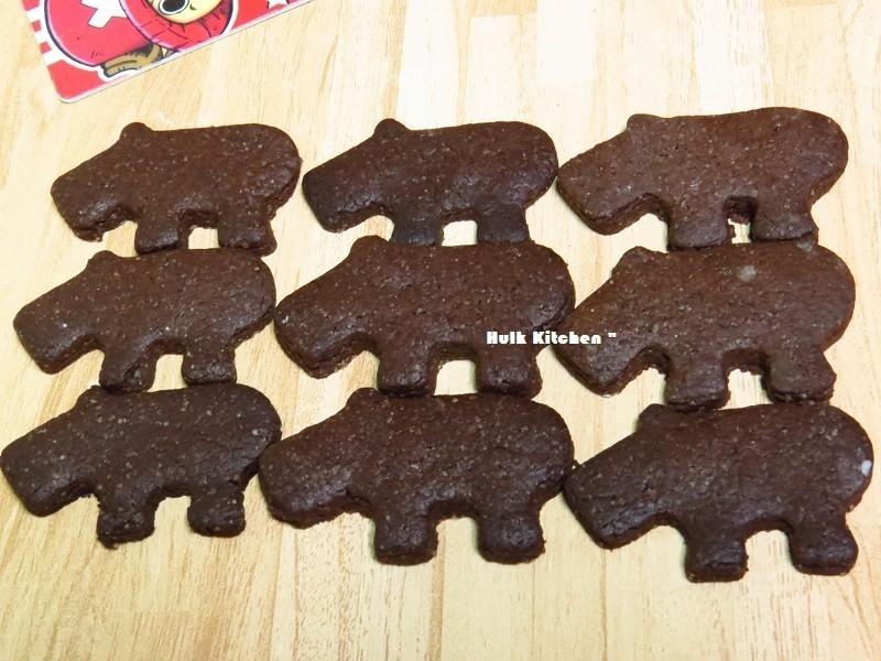 可可造型脆餅