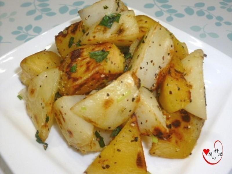 [得意的一天橄欖油]椒鹽雙薯