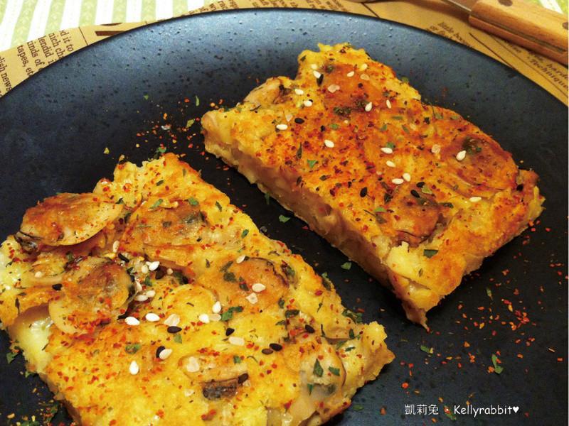 10分鐘上菜-蛤蠣菇菇煎餅