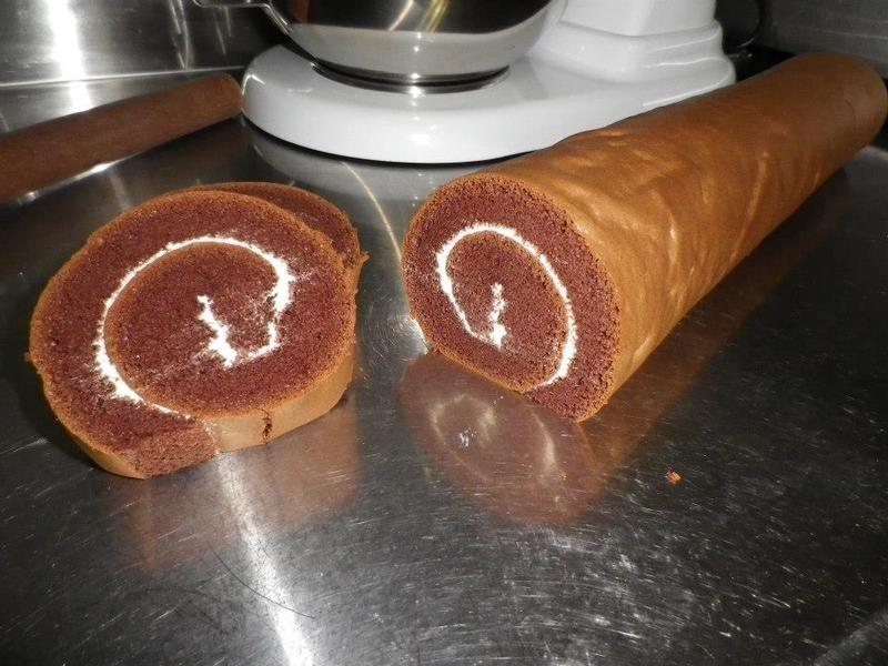 巧克力乳酪蛋糕捲