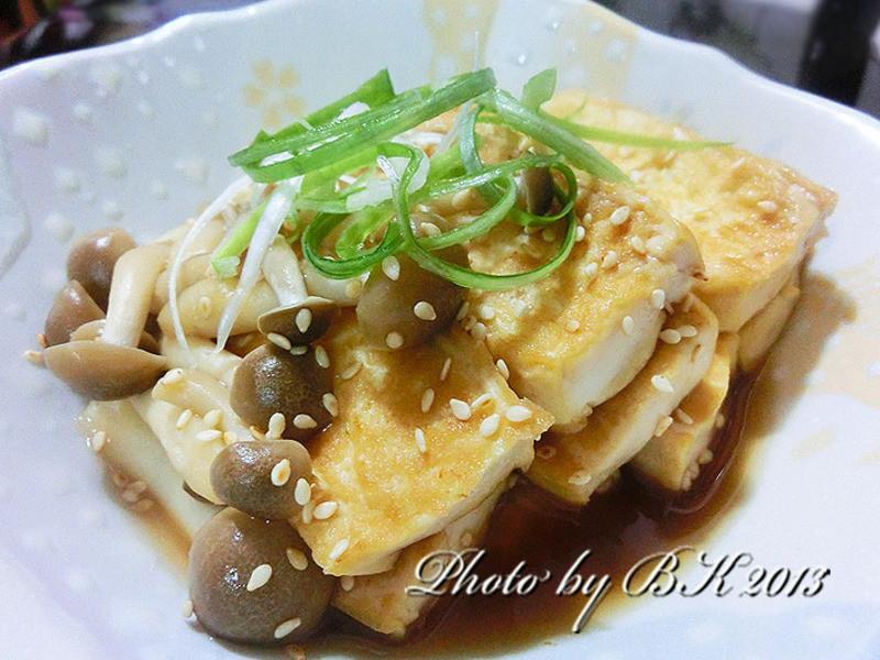 【龜甲萬樂享醍醐味】鐵板鮮菇豆腐