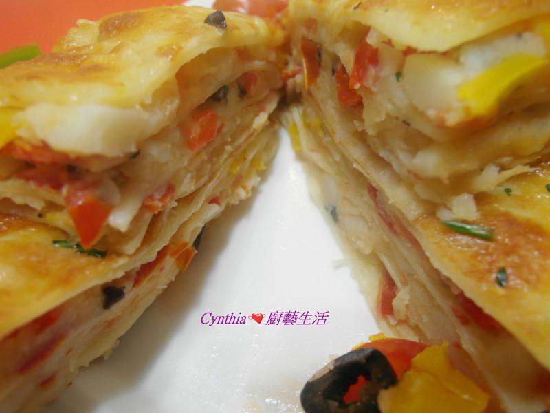 【city'super 漫走地中海】[五彩蔬菜千層麵]Cynthia廚藝生活