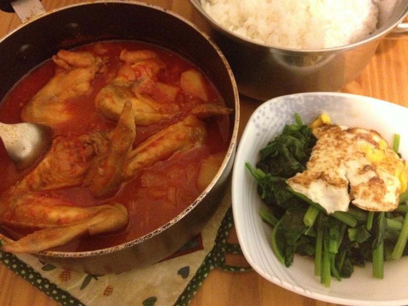 姊姊的韓式辣雞翅(燉)