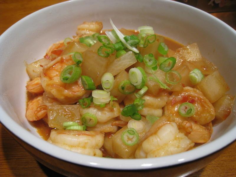 【粉豬兒】蝦炒白蘿蔔