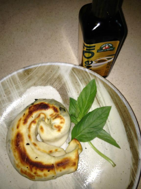 [得意的一天橄欖油]塔香蝸牛餅