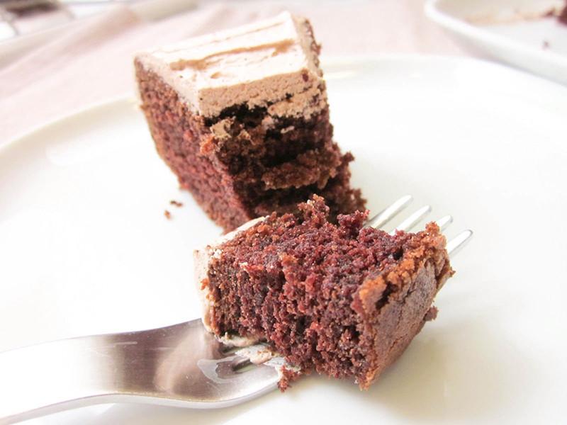 復古巧克力蛋糕
