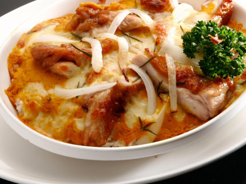 白醬雞肉焗烤飯(即食創意)