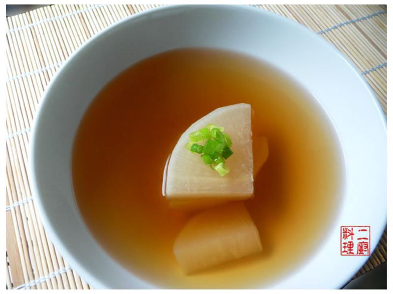 《二廚料理湯品》日式大根湯 168.74大卡