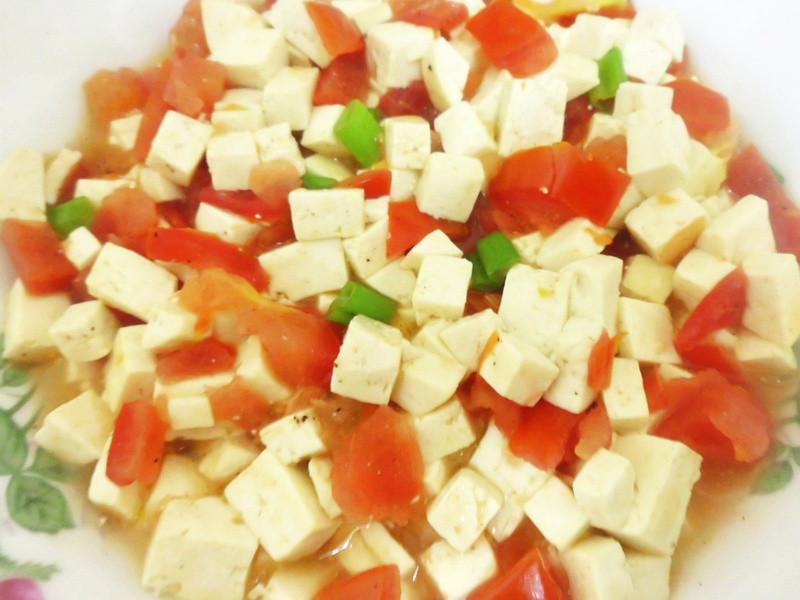 龜甲萬享醍醐味-三色燴豆腐
