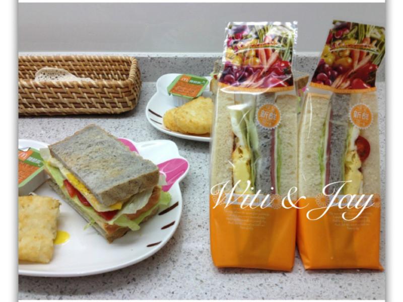 [Witi✿Kitchen]雙色三明治
