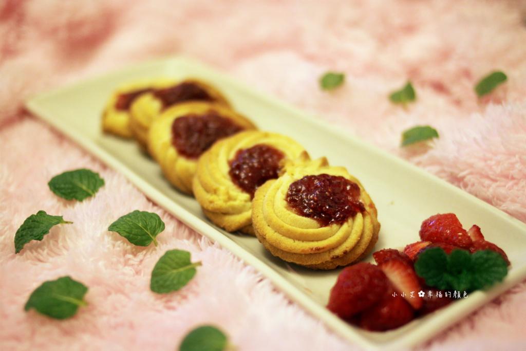 手工果醬系列♫草莓果醬奶酥餅乾❤