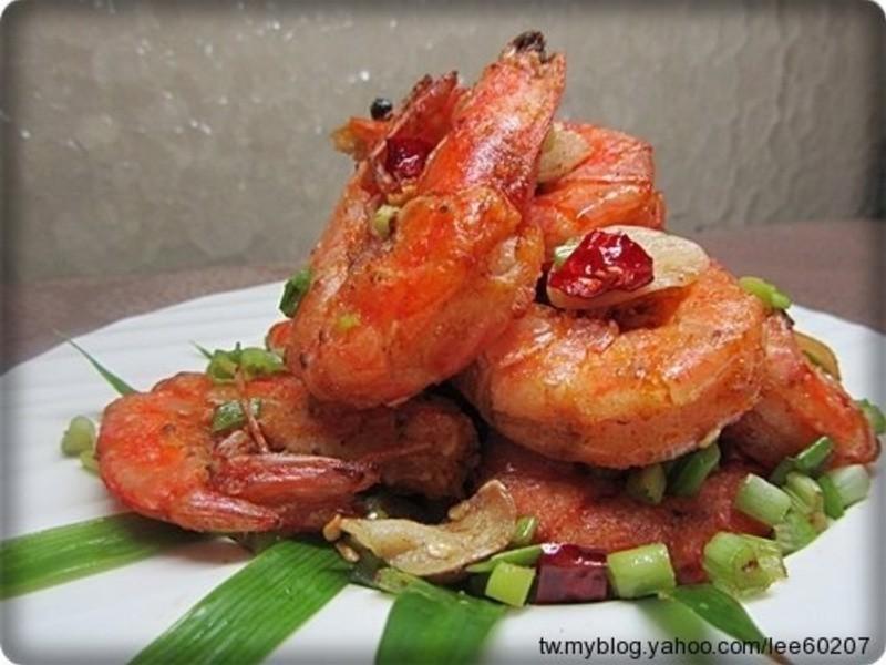 [得意的一天橄欖油] 鹽酥蝦