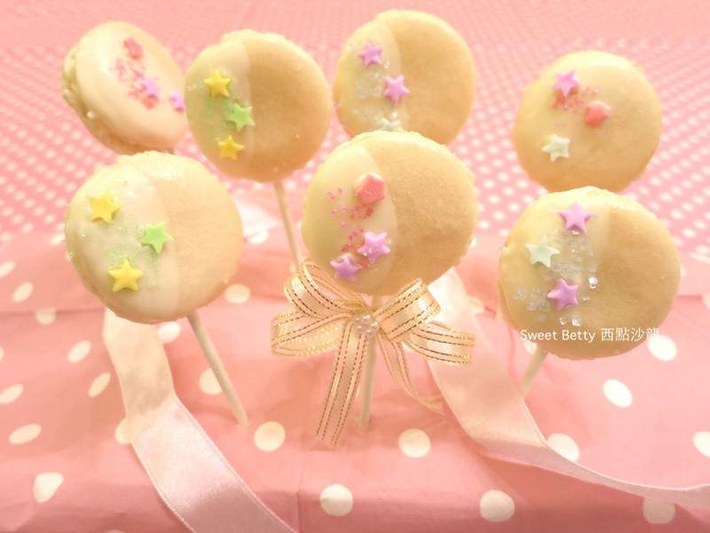 馬卡龍棒棒糖~Macaron Candy