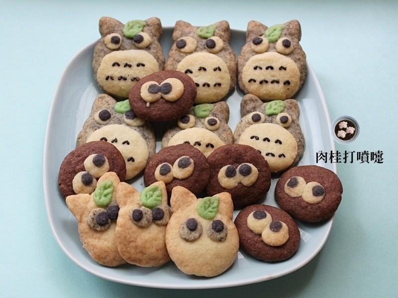 【肉桂打噴嚏】可愛的龍貓♥造型餅乾
