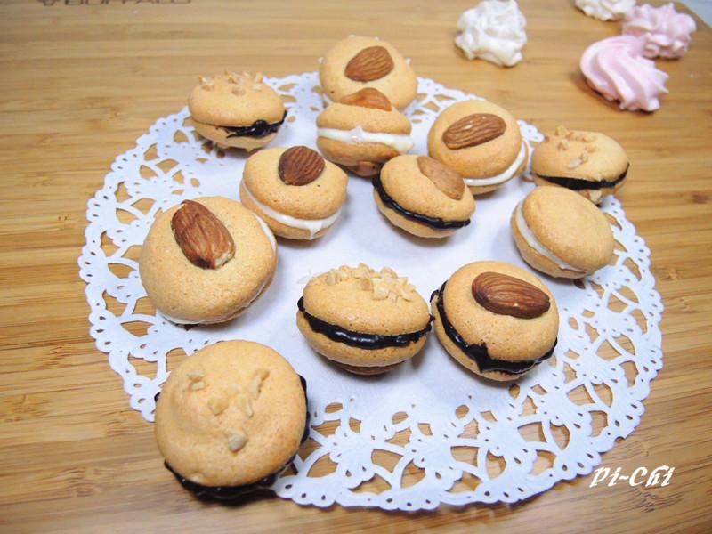 【我的第一堂甜點課食譜試作】杏仁夾心