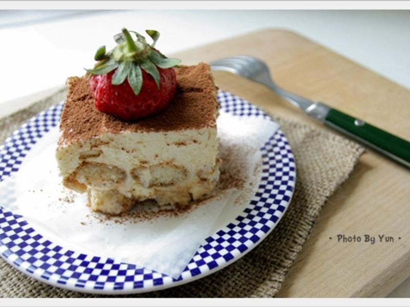 [Yun。在廚房]提拉米蘇簡單作!