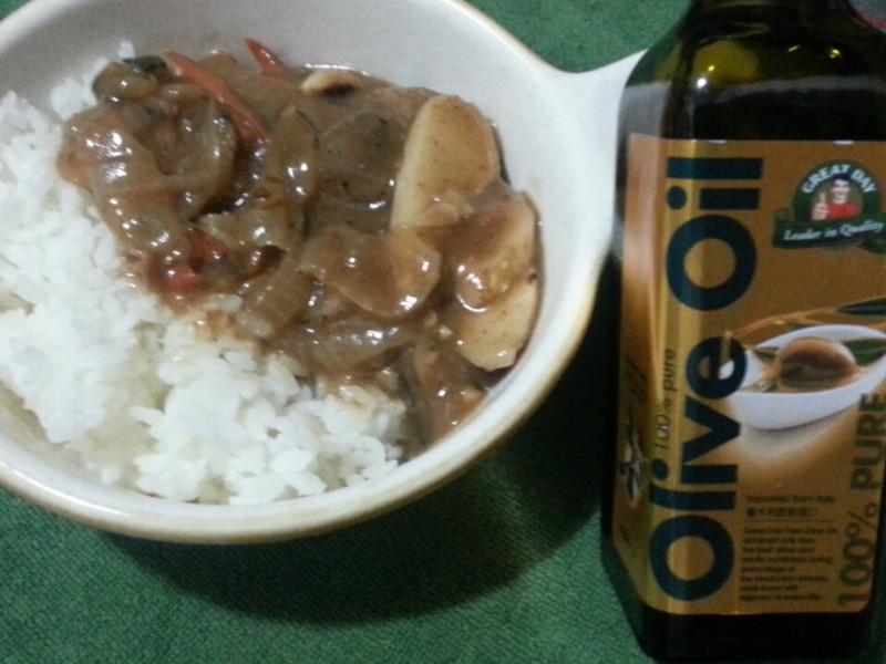 【得意的一天橄欖油】牛肉燴飯
