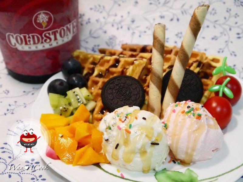 """♡宛の涼夏好""""食""""光 ✿ 心動時刻:Mix & Fun COLD STONE美味冰淇淋"""